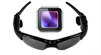 Wholesale Mp3 Sunglasses Dhl - Wireless Sports Headphone Sunglasses Bluetooth Headset Stereo Handsfree Earphones mp3 Music Player With Retail Package Via DHL