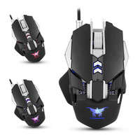 Wholesale Wire Weight - Combaterwing CW30 Wired Gaming Mouse Mice 7 Buttons 3200DPI 1000Hz Return Rate Weight Tuning 4 Color Breathing LED Light