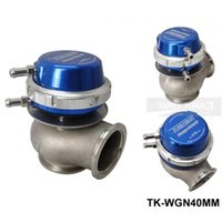 Wholesale Gate Valve Valves - High Quality New Turbo Wastegate  Waste Gate 40MM For Universal Have In Stock TK-WGN40MM (7-9 PSI)