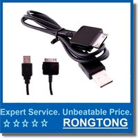 Wholesale microsoft cables - USB Data Sync Charger Cable For Microsoft Zune HD MP3 USB Charger Charging Cable for MP3 Player 1m black