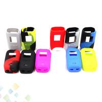 Wholesale vaporesso box mod for sale - Silicone Case for Vaporesso Revenger Mini W Mod Silicon Cases Bag Colors Rubber Sleeve Box Protector Skin DHL Free