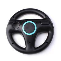Wholesale Steering Wheel Kart Racing - Mario Kart Steering Racing Wheel Holder for Wii Remote Controller Gaming Controllers Joystick Compact Durable White Black OPP Bag