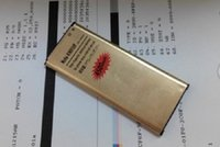 Wholesale High Capacity Golden Battery - New arrival High Capacity golden Battery 4350mAh Gold Replacement Battery Li-ion battery for Samsung Galaxy S5 i9600 Epacket Free Shipping
