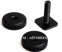 Wholesale Flash Hot Shoe Adapter - Wholesale-wholesale For 1 4'' Screws Adapter Kit for Camera Flash Hot Shoe for digital cameras