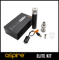 Wholesale Maxx E Cig - Genuine Aspire Elite Kit Aspire Atlantis Mega Kit 5ML Aspire Atlantis MEGA Tank and Aspire CF MAXX Battery 2015 New E Cig FREE Shipping