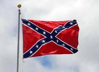 ingrosso decorazioni di colore grigio giallo-Bandiera confederata BATTAGLIA SUD BATTAGLIA BANDIERA DELLA GUERRA CIVILE REBEL Bandiera da battaglia per l'esercito della Virginia del Nord