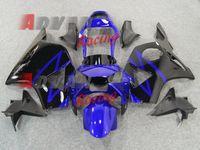 ingrosso cuscini neri cbr954rr-2014 Hot Blue Black INJECTION Carena Kit carrozzeria CBR900RR CBR954RR 2002-2003 012