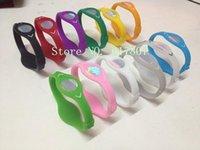Wholesale Energy Silicone Bracelets - Wholesale-50pcs LOT Free Shipping silicone hologram bracelets energy wristband bracelet with OPP bag