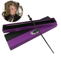 Wholesale Harry Potter Deluxe - Wholesale-Hot Sale Quality Deluxe COS Minerva McGonagall Magic Wand of Harry Potter Magical Wands with Gift Box Packing