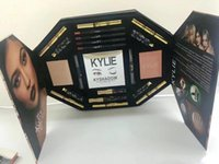 Wholesale Top Wholesale Items - HOTTEST Peacock The box by Kylie makeup set 21 in1 hot item mascara lipstick beauty set face makeup top quality free shipping