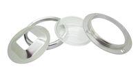 ledli lens reflektörleri toptan satış-70mm Led Lens + 79mm Reflektör Kolimatör Bankası + 91mm 20 W-100 W LED Modülü Için Sabit Braketi Çip Işık DIY