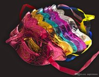 Wholesale New Fashion Mask party Masquerade Colorful Plated Handmake Mask Venetian Masquerade Ball Mask B03
