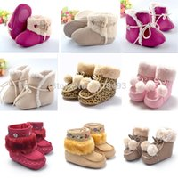 Wholesale Kind Baby Shoe - Wholesale-2015 New Fashion Winter Newborn Baby Shoes All Kinds Of Unisex Baby Boys Girls Prewalker Super Warm Boots Booties Anti-slip Shoe