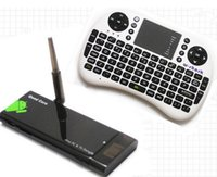 Wholesale Cx 919 Android Quad Core - CX-919 Android 4.4 MINI TV BOX & i8 Wireless Keyboard Air Mouse RK3188 Quad Core 2G 8G Bluetooth XBMC Media Player CX919 Dongle Smart Stick