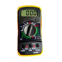 Wholesale Cheap Digital Multimeter - Dropshipping Cheap DMM XL830L Portable Hold Backlight Digital Multimeter Current Voltage Resistance Transistor HFE Tester Multimetro