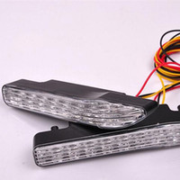 Wholesale Day Light Drl - 12V 24V Auto Car LED Daytime Running Light DAY DRIVING LAMP Daytime Running Lights Fog Lamps DRL LA-528