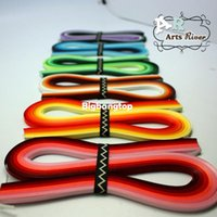 Wholesale Quilling Paper Strips - 1509 720 Strips Mixed 36 Colors 5mm Quilling Paper, DIY Paper Material Quilling Paper Strips Free Shipping