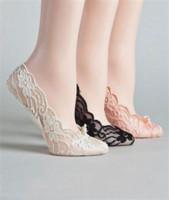 zapatos de baile de boda al por mayor-Zapatos de boda de encaje baratos calcetines elásticos Calcetines nupciales Zapatos de baile por encargo para la actividad de la boda Calcetines zapatos nupciales Envío gratis