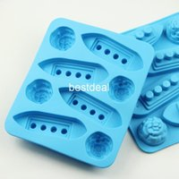 Wholesale Ice Mold Titanic - creative home authentic Titanic ice cube ice box ice tray mold submarine ice mould 2015 hot sales in hot summer