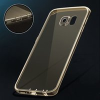 Wholesale Dust Plugs Galaxy - for S7   S7edge! Ultrathin Slim Soft TPU Clear Transparent Case for Samsung Galaxy S7  EDGE Crystal Cover with Dust Plug