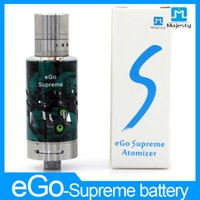 Wholesale E Cigarrete - ego one Stainless atomizer coil eGo one Atomizier For E-cigarrete Battery Facotry price atomizer dual coil