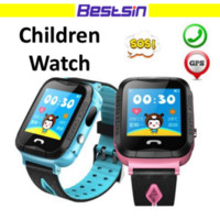 Wholesale German Christmas - V6G Children Smartwatch Swimming Waterproof GPS Tracker SOS call with Camera Special For kid gift Christmas gift with Retail Box Q50
