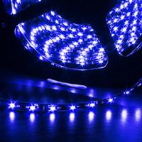 ingrosso decorazione della striscia principale per l'automobile-Nero PCB nero SMD 3528 300 LED striscia flessibile LED bianco / bianco caldo / rosso / blu / verde / RGB IP65 impermeabile partito X-MAN Decorazione auto