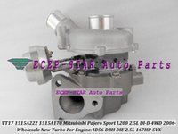 Wholesale Mitsubishi Pajero Turbocharger - Turbo VT17 1515A222 1515A170 Turbocharger Fit For Mitsubishi Pajero Sport L200 DC DI-D 4WD 2006-2014 4D56 5VX DBH DIE 2.5L 167HP
