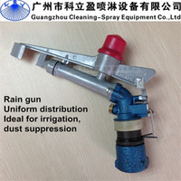 Metal sprinkler gun irrigation - 2 quot thread water rain gun sprinkler for agriculture large irrigation