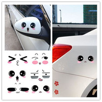 Wholesale Cheap Window Decals - Funny expression Auto decals car bumper sticker cheap car decals car decals stickers Exterior Accessories atp241