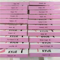 Wholesale Hot Long Hair - HOT kylie cosmetics High Quality False Eyelashes Handmade Natural Long Thick Mink Fur Eyelashes Soft Fake Eye Lash extensions Black Terrier