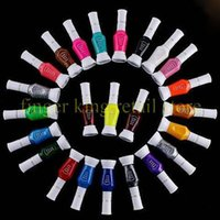 Wholesale Gel Nail Stamps - 24 Bottle LOT New Nail Polish stamp polish Wholesale price 24 colors Optional Stamping Nail Art JT027