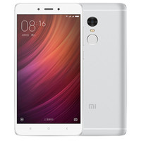 Wholesale Xiaomi Unlock - Deca core 4G network Ram 3G 4G Rom 32GB 64GB unlocked original xiaomi redmi note 4 smart phone inch 5.5 cell phone Android with WIFI GPS