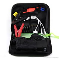 Wholesale Wholesale Car Battery Booster - Emergency Battery Booster Portable Car Jump Starter Digital Charger High Power 12000mah 12V 300-600A CS-02
