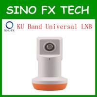 Wholesale Universal Lnbf - Factory price HD Digital KU Band Universal LNB LNBF 0.1db Noise Figure KU Universal Single LNB LNBF