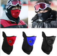 Wholesale Red Snowboard Beanies - Wholesale-2015 New Arrival face mask helmet winter protective Warm for Ski Snowboard bicycle Bike Motorcycle Free shipping