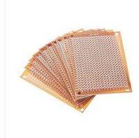 Wholesale Experiment Pcb - 10Pcs new Prototype Paper Copper PCB Universal Experiment Matrix Circuit Board 5x7cm Brand New