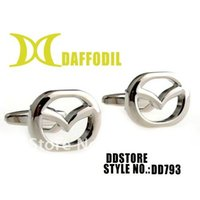 Wholesale Studs For Shirts - Wholesale-Car sign mens cuff links supplier ddstore wholesale cuff links fashion metal shirt stud gift for boy friend for promotion DD793
