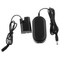 Wholesale Eos 5d Mark - ACK-E6 AC Power Adapter For CANON EOS 60D 7D 6D 5D Mark II III 5D3 +DC Coupler