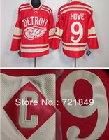 Wholesale Dry Ice Delivery - Factory Outlet, 2014 Free delivery top quality Cheap 2014 Winter Classic Ice Hockey Jerseys Detroit Red Wings #9 Gordie Howe Premier Jersey