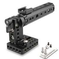 Wholesale 15mm Rod Rig Handles - CAMVATE DSLR Top Handle Rig w  Top Plate 15mm Rod Clamp Cold Shoe Mount fr Canon Sony
