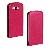 Wholesale s4 mini case wholesale online - Crazy Horse Pattern Wallet PU Leather Vertical Flip Cover Case For Samsung Galaxy S3 S4 S5 Mini S6 Edge Note A5 A7