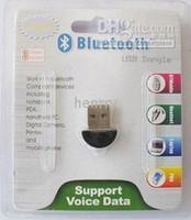 edr dongle großhandel-100 Stück USB 2.0 Mini Bluetooth V2.0 EDR Dongle Wireless Adapter / Mini USB Dongle 2.0