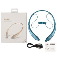 Wholesale Earphones Iphone Free Dhl - HBS902 Bluetooth Headphone Wireless CSR 4.0 HBS-902 Earphone Headset Sports Neckband for iPhone 6 Plus Samsung s5 s6 edge DHL Free EAR175