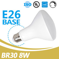 China Supplier Wholesale 650lm E26 Dimmable 8W BR30 Lâmpadas LED para cozinha UL Energy Star Listed Led BR30