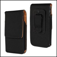 Wholesale M35h Case - Matt Leather Pouch Case for Sony _Xperia SP M35c M35h Cell Phones with Belt Clip Black Free Shipping
