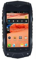 Wholesale Chinese Waterproof Cell Phone - Z6 IP68 Waterproof cell phone MTK6572 Dual core 8MP 4 Inch 4GB Rom 512 Ram GPS 3G Waterproof Dustproof Shockproof Outdoor Phone