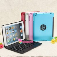 Wholesale Dustproof Wireless Keyboard - for iPad Mini 4 Nw Design colorful Dustproof 2 in1 Bluetooth 3.0 Wireless Keyboard Foldable Case Stand Cover Holder 010245