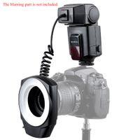 Wholesale Godox Pentax - Original Godox ML-150 Guide Number 10 Macro Ring Flash Light + 6 Lens Adapter Rings for Canon Nikon Pentax Olympus DSLR cameras