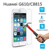Wholesale Huawei C8815 - Explosion-proof Screen Protective Film For Huawei Ascend P6 P7 P8 P8Lite C8813Q C8815 G610 C8816 G615 C8817L G620